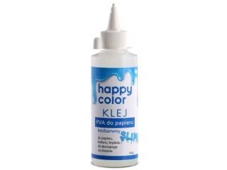 Klej do papieru PVA HAPPY COLOR butelka 100g