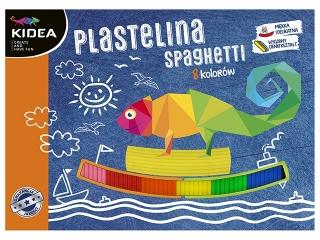 Plastelina spaghetti 8 kolorów KIDEA