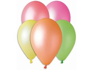 """Balony Premium fluorescencyjne, 12"""" / 5 szt."""