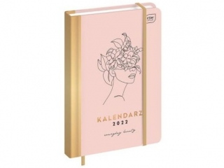 Kalendarz ksi±¿kowy INTERDRUK B6 192k. Metalic Beauty