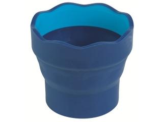 Pojemnik na wodê FABER-CASTELL Click&Go - niebieski