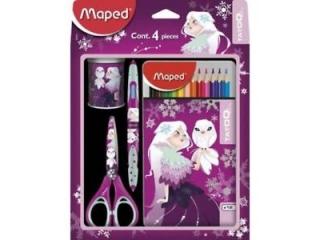 Zestaw przyborów MAPED Princess set 4 M899954