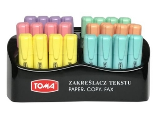 Zakre¶lacz TOMA Mistral pastel display