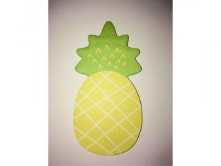 Karteczki samoprzylepne Ananas