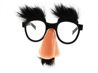 Okulary Profesorek, czarny