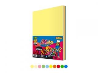 Papier ksero kolorowy A4 100k. PASTELLO 160g mix 10 kolorów