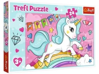 Puzzle   24 Maxi TREFL S³odki jednoro¿ec
