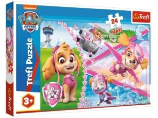 Puzzle   24 Maxi TREFL Psi patrol - Bohaterska Skye
