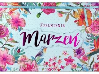 Kartki karnet B6 HM 200-1289 spe³nienia marzeñ
