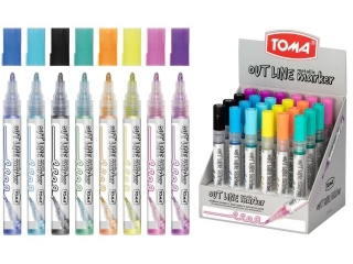 Marker TOMA Outline display mix