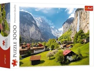 Puzzle 3000 TREFL Lauterbrunnen, Szwajcaria