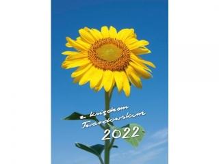 Kalendarz ksi±¿kowy DIEC z ks.Tward - s³onecznik 2022