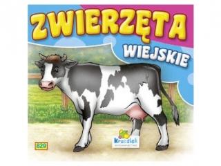 Ksi±¿eczka harmonijkowa KRZESIEK Zwierzêta wiejskie - Krowa