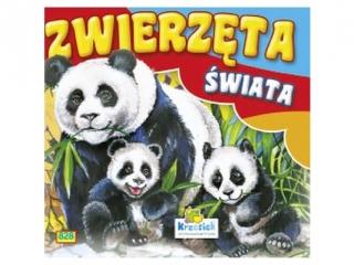 Ksi±¿eczka harmonijkowa KRZESIEK Zwierzêta ¶wiata - Panda