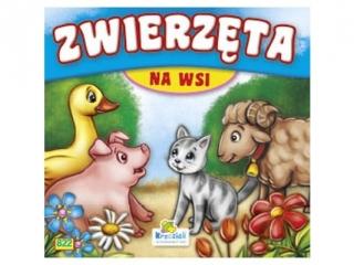 Ksi±¿eczka harmonijkowa KRZESIEK Zwierzêta na wsi - ¦winka, kotek