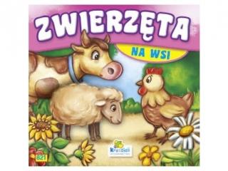 Ksi±¿eczka harmonijkowa KRZESIEK Zwierzêta na wsi - Krówka, owca