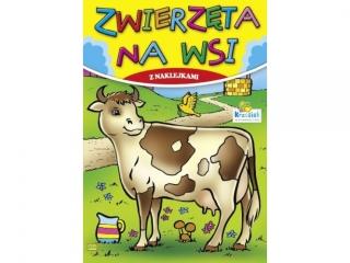 Kolorowanka KRZESIEK A5 16k. Zwierzêta na wsi - Krowa