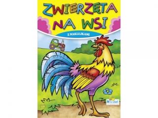 Kolorowanka KRZESIEK A5 16k. Zwierzêta na wsi - Kogut