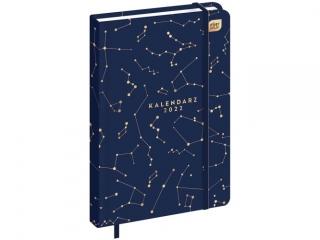 Kalendarz ksi±¿kowy INTERDRUK A5 192k. Matallic Galaxy