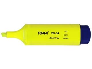 Textmarker TOMA Mistral - ¿ó³ty (TO-34)