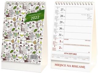 Kalendarz biurkowy WOKÓ£ NAS stoj±cy 2022
