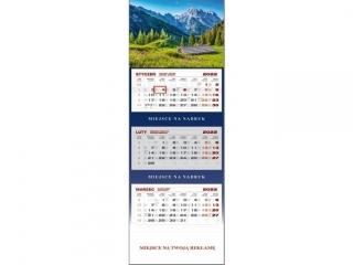 Kalendarz trójdzielny WN 2022 - Alpy