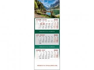 Kalendarz trójdzielny WN 2022 - Górskie jezioro
