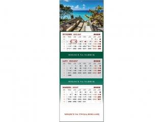 Kalendarz trójdzielny WN 2022 - Morze