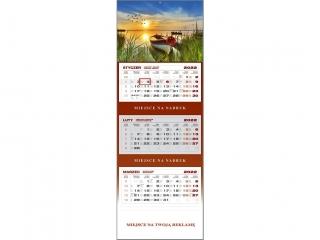 Kalendarz trójdzielny WN 2022 - £ódka