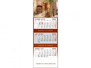 Kalendarz trójdzielny WN 2022 - Toskania