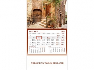 Kalendarz jednodzielny WN Toskania 2022