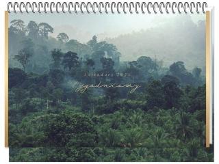 Kalendarz na biurko INTERDRUK tygodniowy Travel
