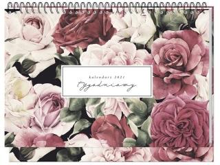 Kalendarz na biurko INTERDRUK tygodniowy Botanic