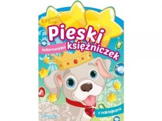 Kolorowanka SKRZAT Kraina magii Pieski ksiê¿niczek - Drops
