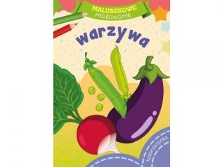 Kolorowanka SKRZAT Maluszkowe malowanie - Warzywa