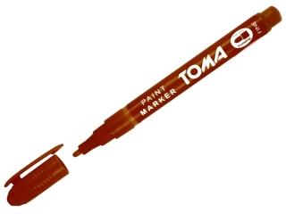 Marker olejowy TOMA 1, 5mm - br±zowy