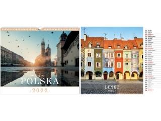 Kalendarz ¶cienny planszowy INTERDRUK 33, 5x40 Polska