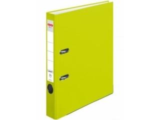 Segregator A4 5cm HERLITZ Q.file PP - neon green