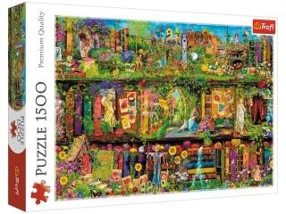 Puzzle 1500 TREFL Ba¶niowa biblioteczka