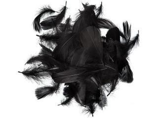 Piórka DPCRAFT 5-12cm 10g czarne