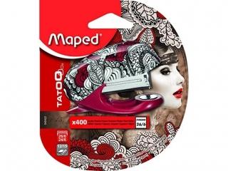 Zszywasz MAPED Tatoo 15 kartek plus 400 zszywek, blister