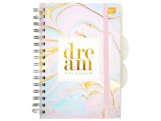 Planer kreatywny INTERDRUK A5 120k. Bulllet journal - Dream