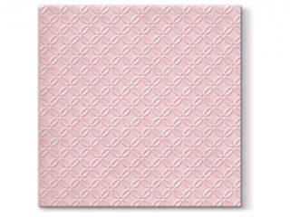 Serwetki papierowe PAW Inspiration Modern (light pink), 33x33 cm, 20 s