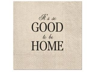 Serwetki PAW wzorzyste We Care Good to be Home 33x33 cm / 20 szt.
