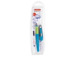 Pióro wieczne HERLITZ My.Pen dla praworêcznych - niebieski/z
