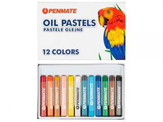 Pastele olejne PENMATE 12 kolorów
