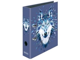 Segregator A4 8cm HERLITZ maX.file - Wild animals wolf