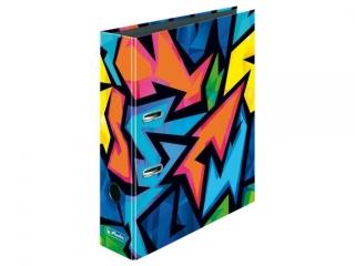 Segregator A4 8cm HERLITZ maX.file - Neon art