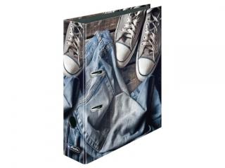 Segregator A4 8cm HERLITZ maX.file - Jeans shoes