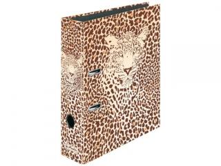 Segregator A4 8cm HERLITZ maX.file - Animal print leopard